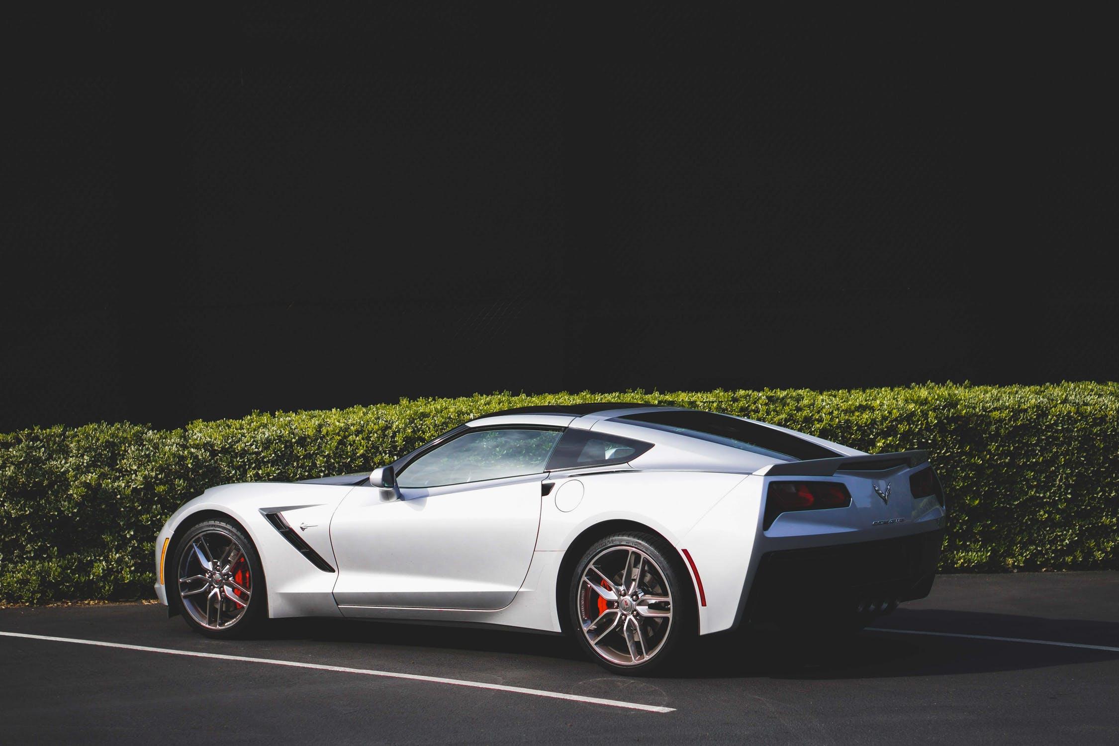 Sølv bil